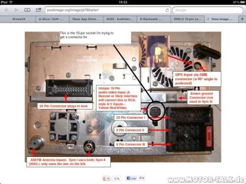 small resolution of audi a3 s3 concert ii u003e rnsd satnav wiring loom issues please help wiring diagram for 99 audi a4 audi rns d wiring diagram