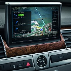 7 Way Navigation 94 Jeep Cherokee Wiring Diagram System Audi Technology Portal Detailed 3d Graphics The Monitor In A8