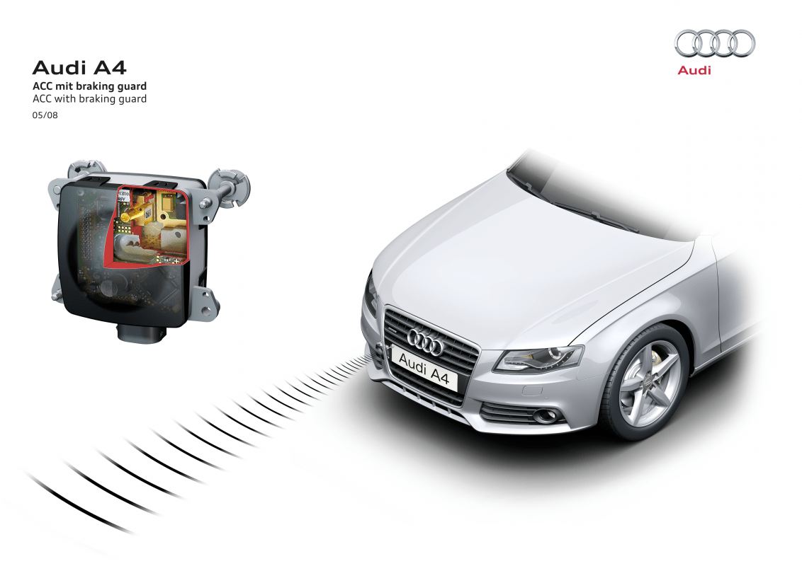 hight resolution of radar sensor the acc in the audi a4