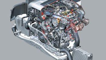 Moteur V8 TDI common rail injecteur piezo électrique