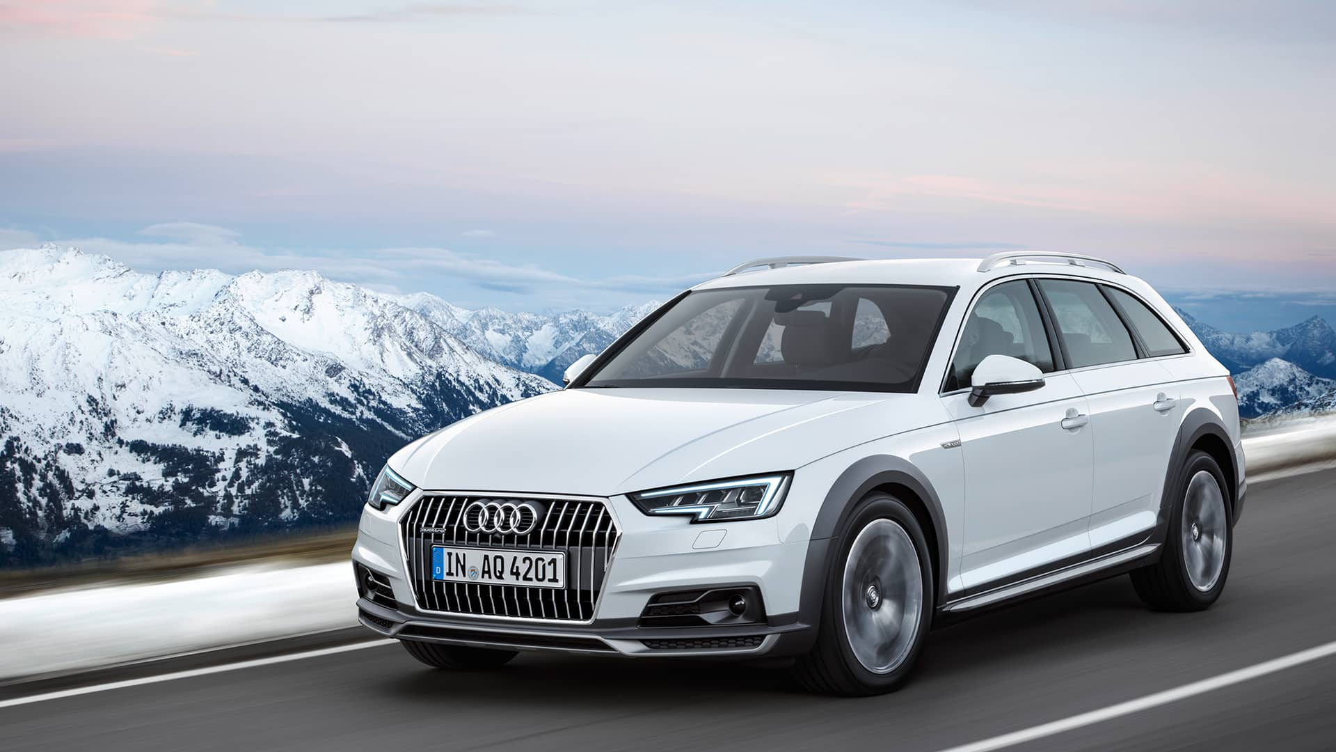 hight resolution of the a4 allroad quattro