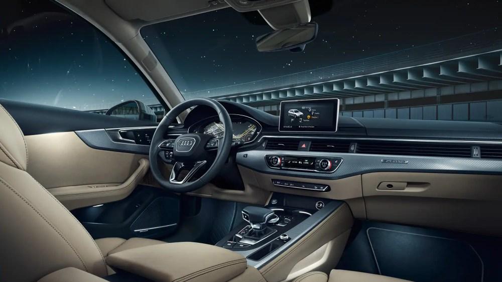 medium resolution of the a4 allroad quattro interior european model shown