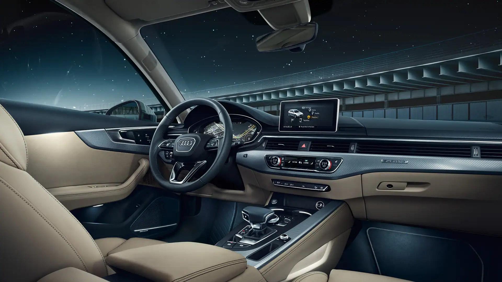 hight resolution of the a4 allroad quattro interior european model shown