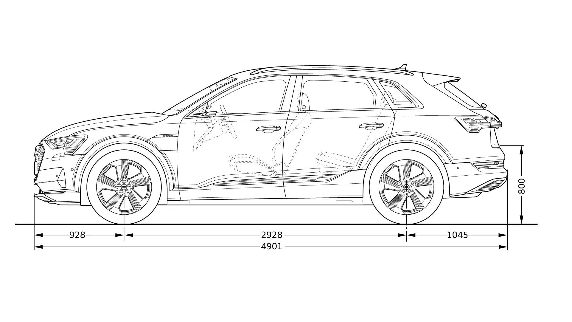 Abmessungen Gt Audi E Tron Gt Audi Tron Gt Audi Schweiz