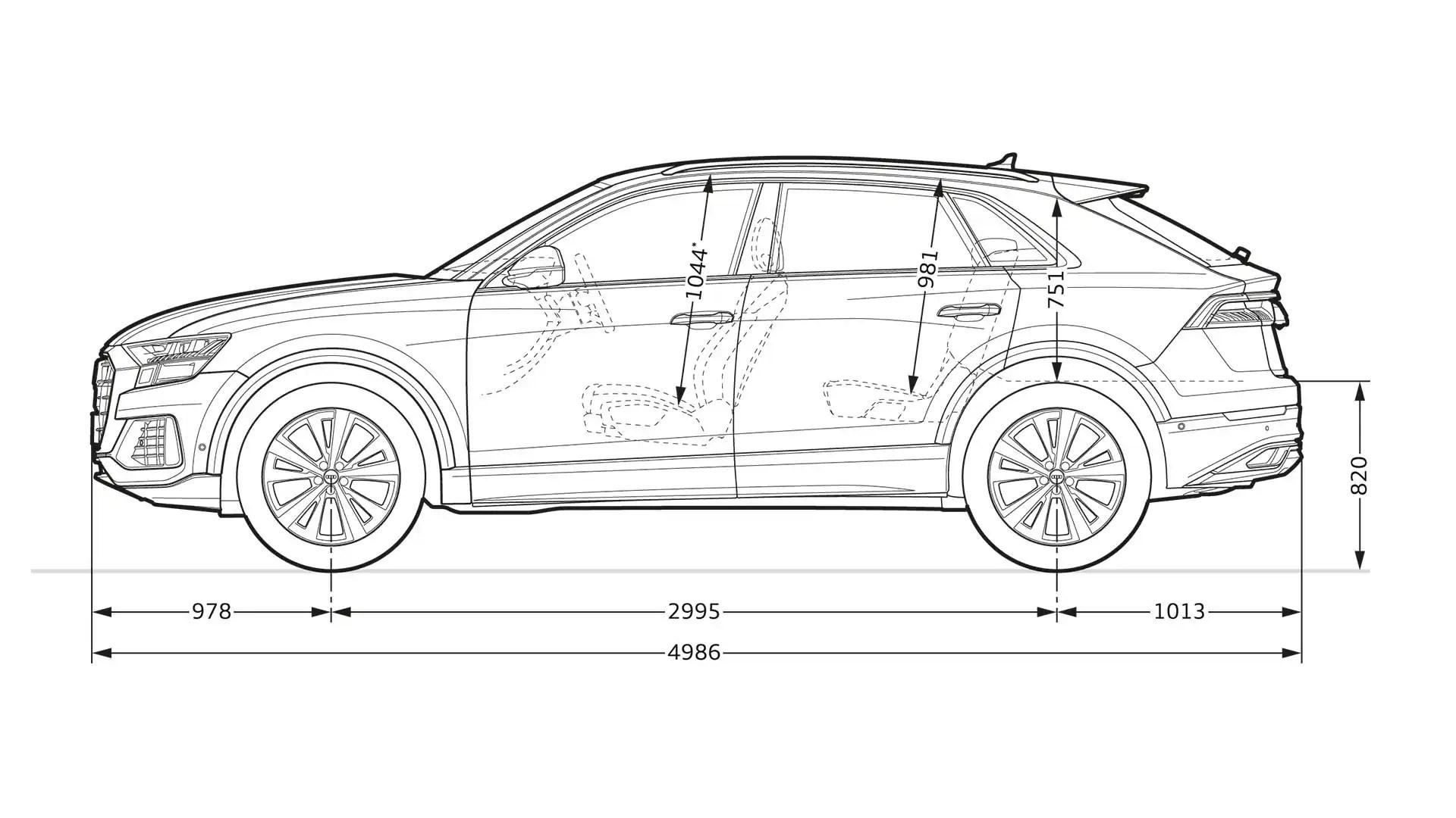 Layer Dimension Gt Audi Q8