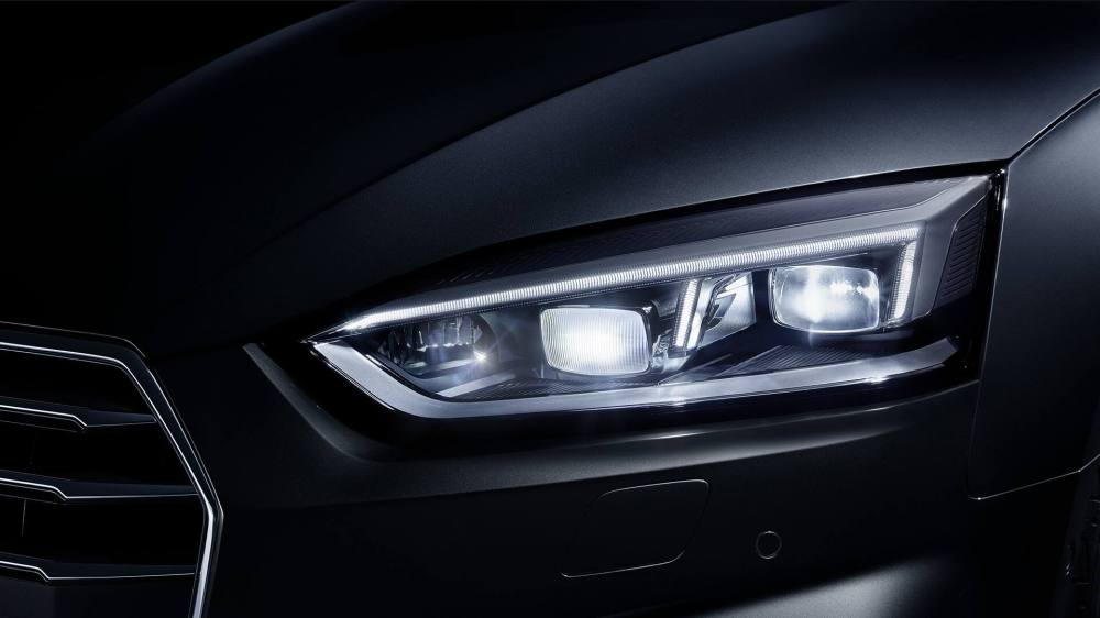 medium resolution of the optional audi matrix led headlights feature highly adaptive light distribution and an attractive design with high recognition value
