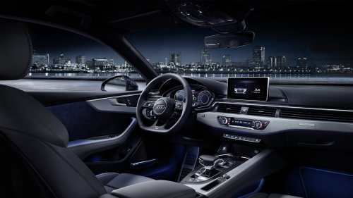 small resolution of audi a5 2017 ambient lighting