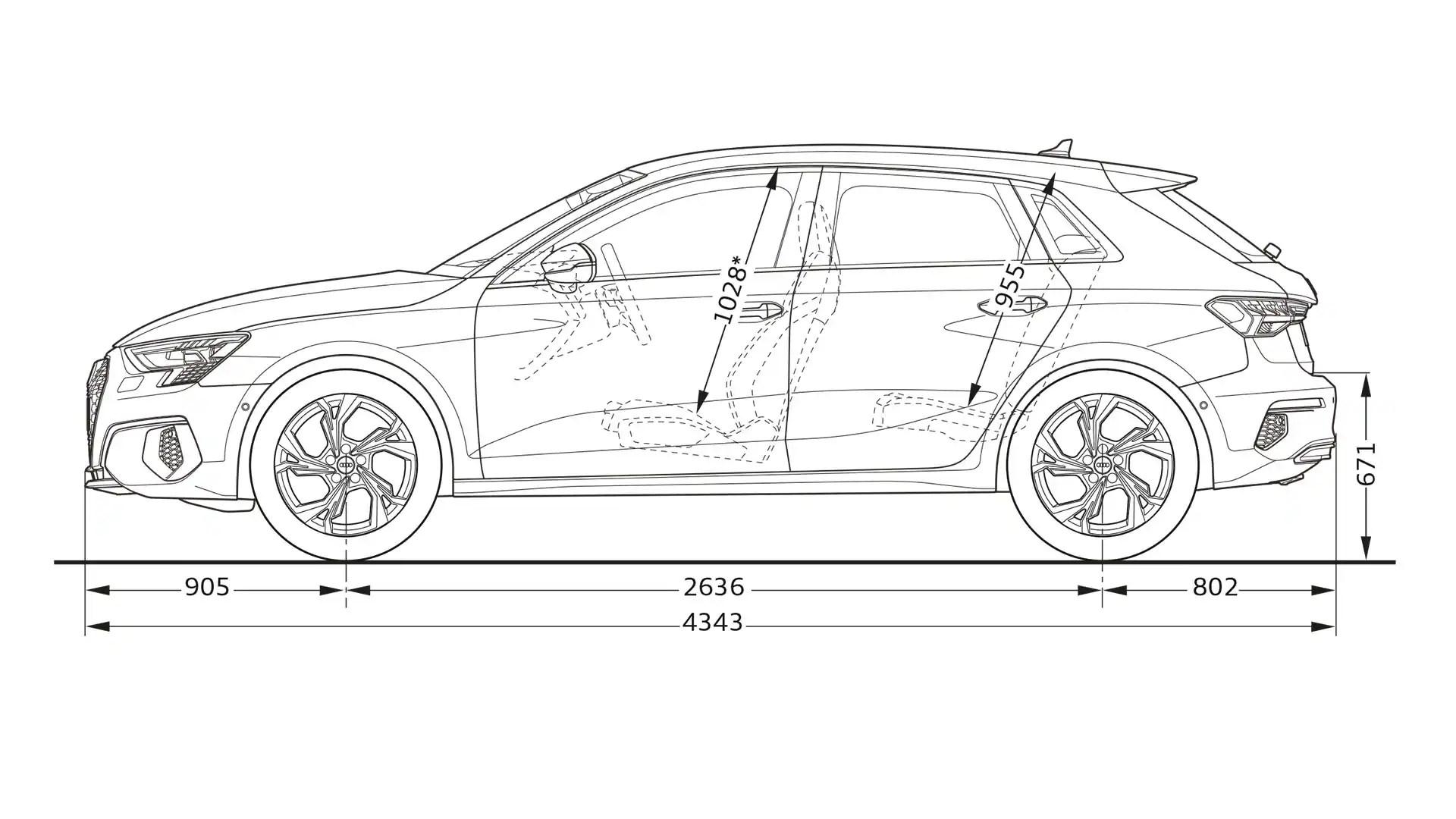 layer-dimensions > Νέο Audi A3 Sportback > A3 > Home