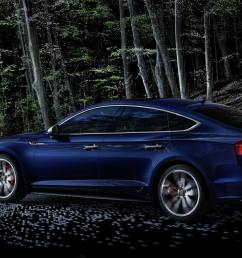 the permanent all wheel drive quattro supports the s5 sportback s already sporty handling  [ 1920 x 1080 Pixel ]