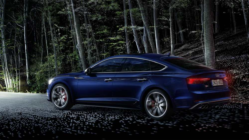 medium resolution of the permanent all wheel drive quattro supports the s5 sportback s already sporty handling