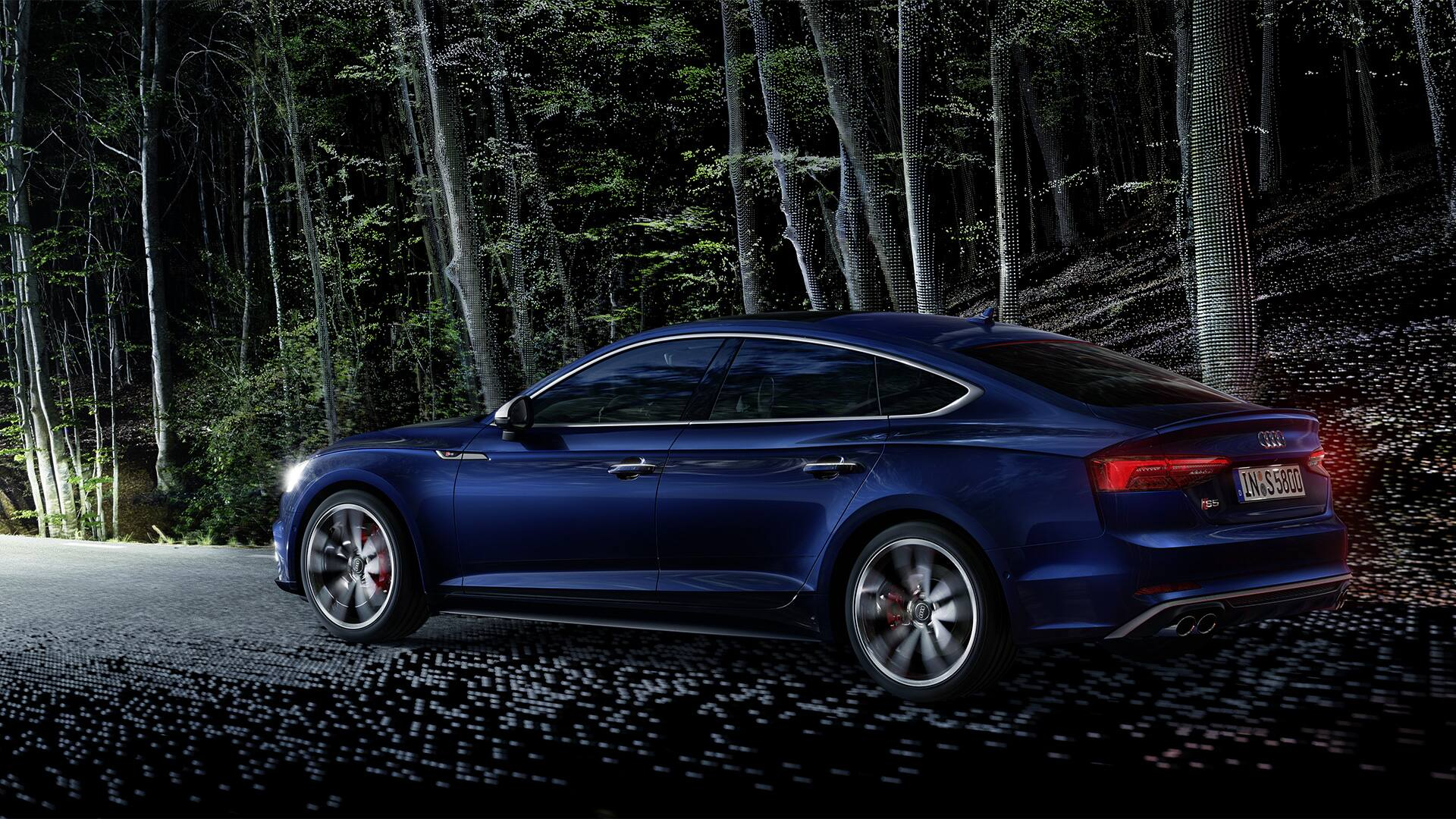 hight resolution of the permanent all wheel drive quattro supports the s5 sportback s already sporty handling