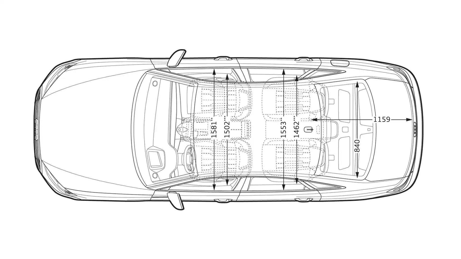 Dimensions > The new Audi A8 > Audi Innovation > Audi St