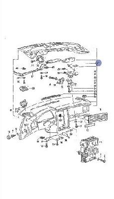 Audi 80 Klub Polska [B4] Montaż deski z 94-96 roku