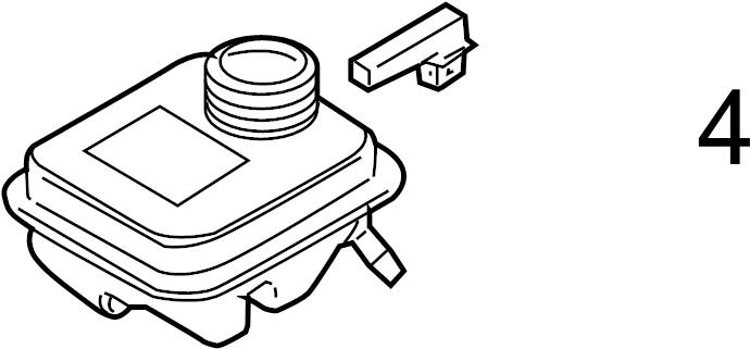 2009 Audi A6 Level. Brake. Sensor. Fluid. Switch. Contact