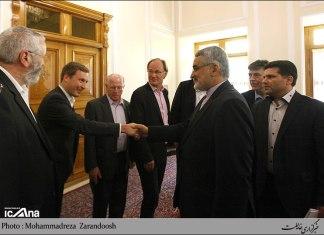 SVP-Delegation trifft sich mit iranischem Hardliner. Foto ICANA