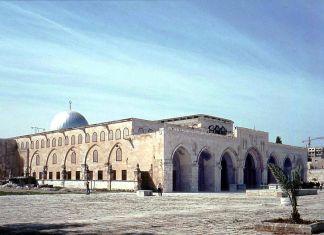 Al Aqsa Moschee, Foto von Barbara Kabel. Lizenziert unter Creative Commons Attribution-Share Alike 3.0 über Wikimedia Commons.