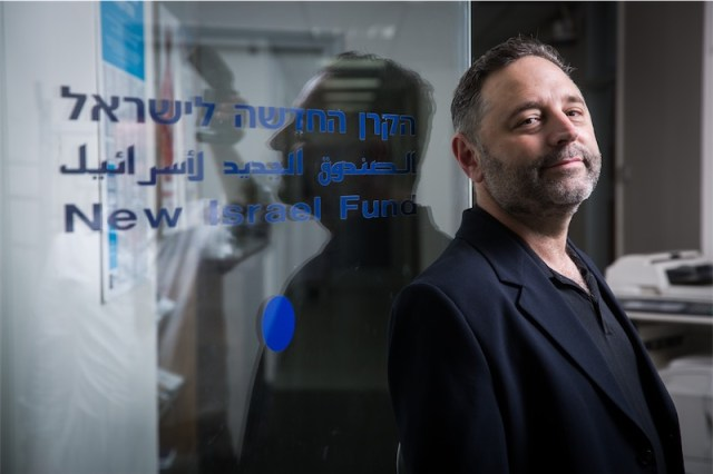New Israel Fund CEO Daniel Sokatch. Foto Hadas Parush / Flash90