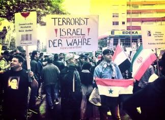 """Al Quds"" Tag 2016 in Berlin. Foto Frederik Schindler"