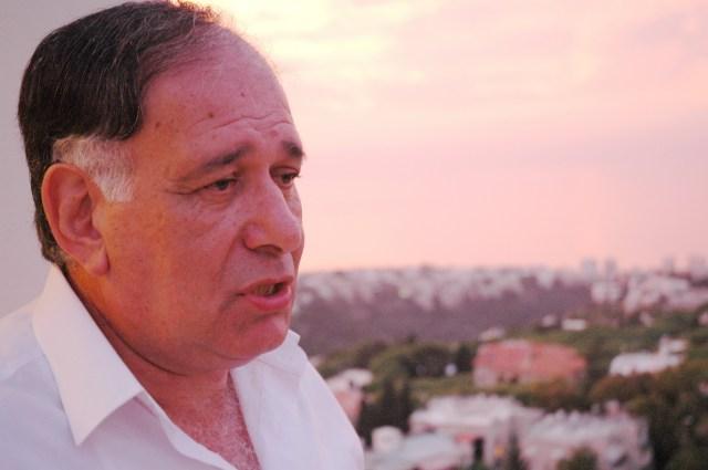 Haifas Bürgermeister Yona Yahav. Foto U. Sahm
