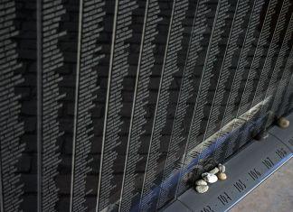 Holocaust Memorial Center - Budapest. Foto Takkk, CC BY-SA 3.0, Wikimedia Commons.