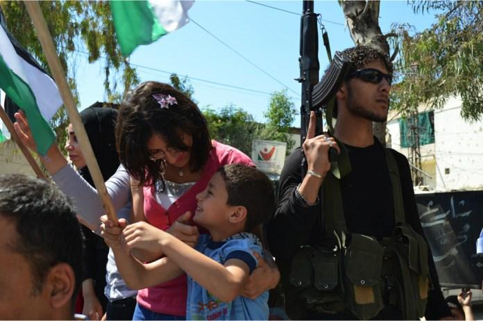 Im libanesischen Lager Ain al-Hilweh, Juli 2015. Foto Geneva Call/Flickr.com, CC BY-NC-SA 2.0