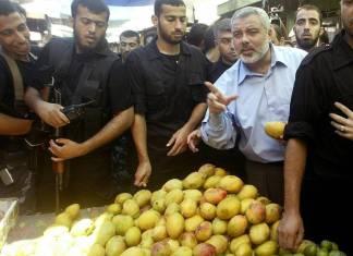 Hamas-Chef Ismail Haniyya. Foto Shehab