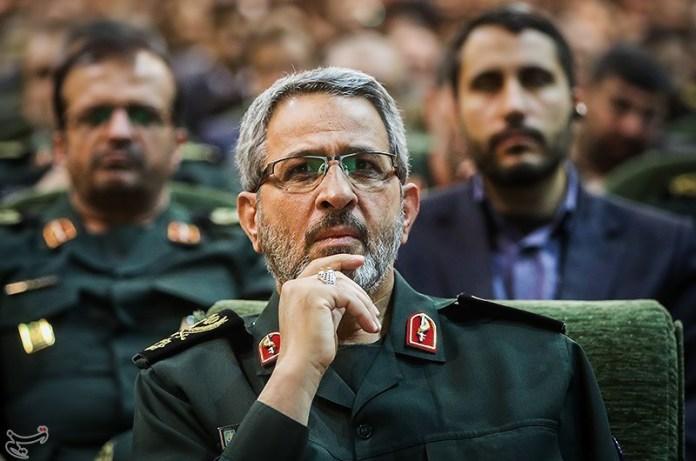 General der iranischen islamischen Revolutionsgarde Gholamhossein Gheybparvar. Foto Tasnim News Agency, CC BY 4.0, https://commons.wikimedia.org/w/index.php?curid=54169080