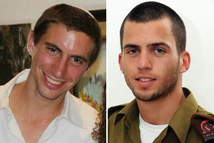Hadar Goldin und Oron Shaul. Foto zVg
