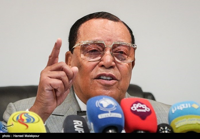 Louis Farrakhan zu Besuch im Iran. Foto Tasnim News Agency, CC BY 4.0, https://commons.wikimedia.org/w/index.php?curid=74295513