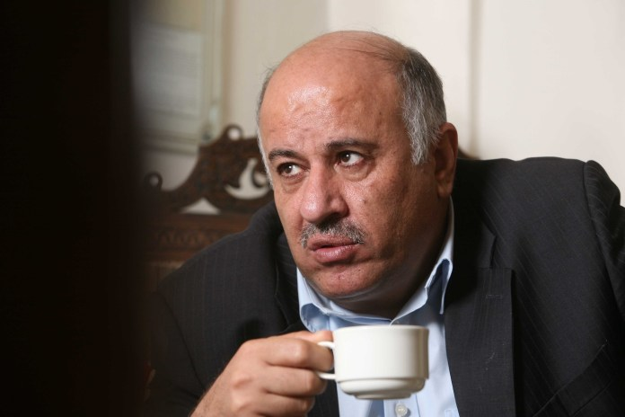 Jibril Rajoub. Foto Nati Shohat / Flash90