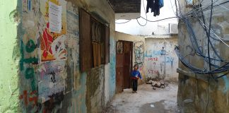 Das Flüchtlingslager Bourj el-Barajneh im Libanon. Foto Al Jazeera English - P1020710, CC BY-SA 2.0, https://commons.wikimedia.org/w/index.php?curid=17498700