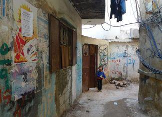 Das Flüchtlingslager Bourj el-Barajneh im Libanon. Foto Al Jazeera English - P1020710, CC BY-SA 2.0, https://commons.wikimedia.org/w/index.php?curid=17498700