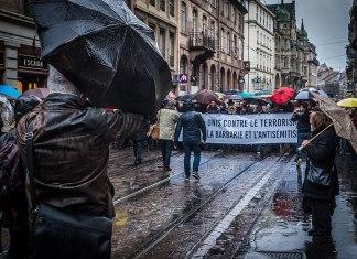 Marsch für Mireille Knoll am 28. März 2018 in Strasbourg. Foto Claude Truong-Ngoc / Wikimedia Commons - cc-by-sa-4.0, CC BY-SA 4.0, https://commons.wikimedia.org/w/index.php?curid=67784432
