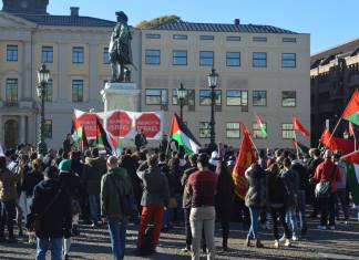 Foto Palestinska Huset i Göteborg / Facebook.com