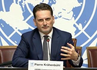 UNRWA Generalsekretär Pierre Krähenbühl. Foto U.N. TV/Multimedia.