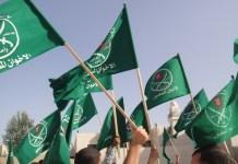 Fahnen der Muslimbrüder. Foto Screenshot Youtube