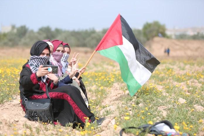 Demonstrierende Frauen im Gazastreifen. Foto Hosny Salah / Pixabay