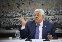 Der Vorsitzende der Palästinensischen Autonomiebehörde, Mahmoud Abbas am 25. Juli 2019 in Ramallah. Foto Flash90.