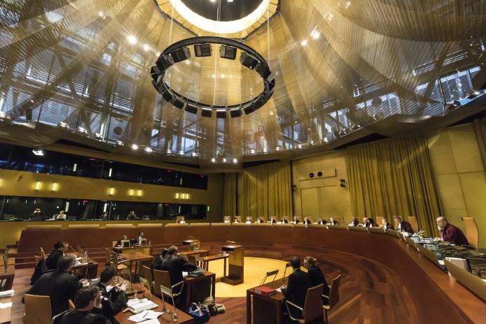Symbolbild. Eine Sitzung des Gerichtshofs. Foto Gerichtshof der Europäischen Union