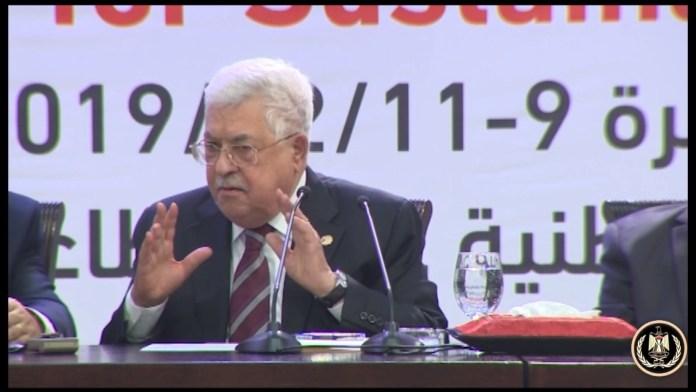 Foto Screenshot YouTube /الرئيس محمود عباس
