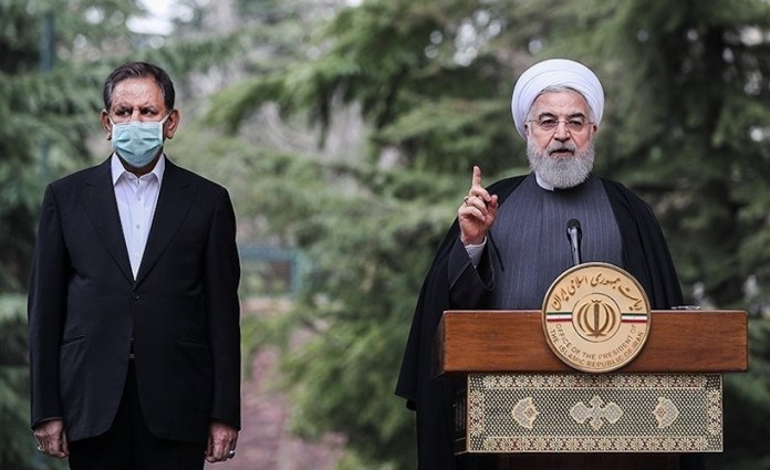 Der Präsident der Islamischen Republik Iran Hassan Rohani. Foto Tasnim News Agency, CC BY 4.0, https://commons.wikimedia.org/w/index.php?curid=88245792