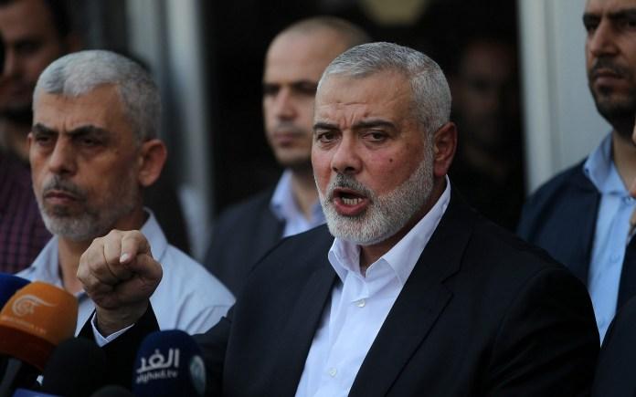 Hamas-Chef Ismail Haniyeh am 19. September 2017. Foto Abed Rahim Khatib/Flash90