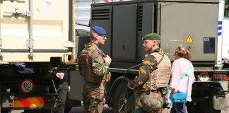 Symbolbild. Belgisches Militär. Foto PD