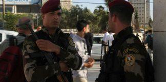 Symbolbild. Palästinensische Polizeibeamte. Foto TPS
