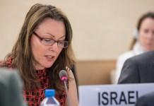 Israels Botschafterin bei den UN-Organisationen in Genf, Aviva Raz-Schechter. Foto: Elma Okic/UN