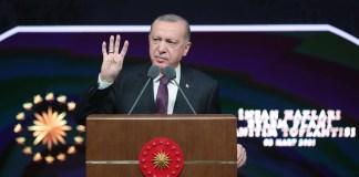 Der türkische Präsident Recep Tayyip Erdoğan. Foto Präsidentschaft der Republik Türkei