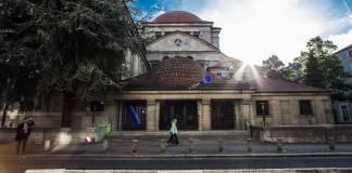 Jüdisches Leben in Frankfurt. Im Bild die Westend Synagoge. Foto IMAGO / Michael Schick