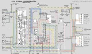 Scalable, COLOR GTV6 Wiring Diagram, part 1  Lighting