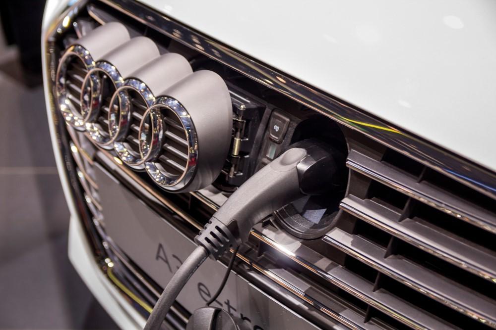 Elektische Audi opladen welke laadpaal