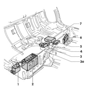 Relay Location Besides 1996 Geo Tracker Fuse Box Diagram